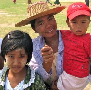 Burmese Villagers