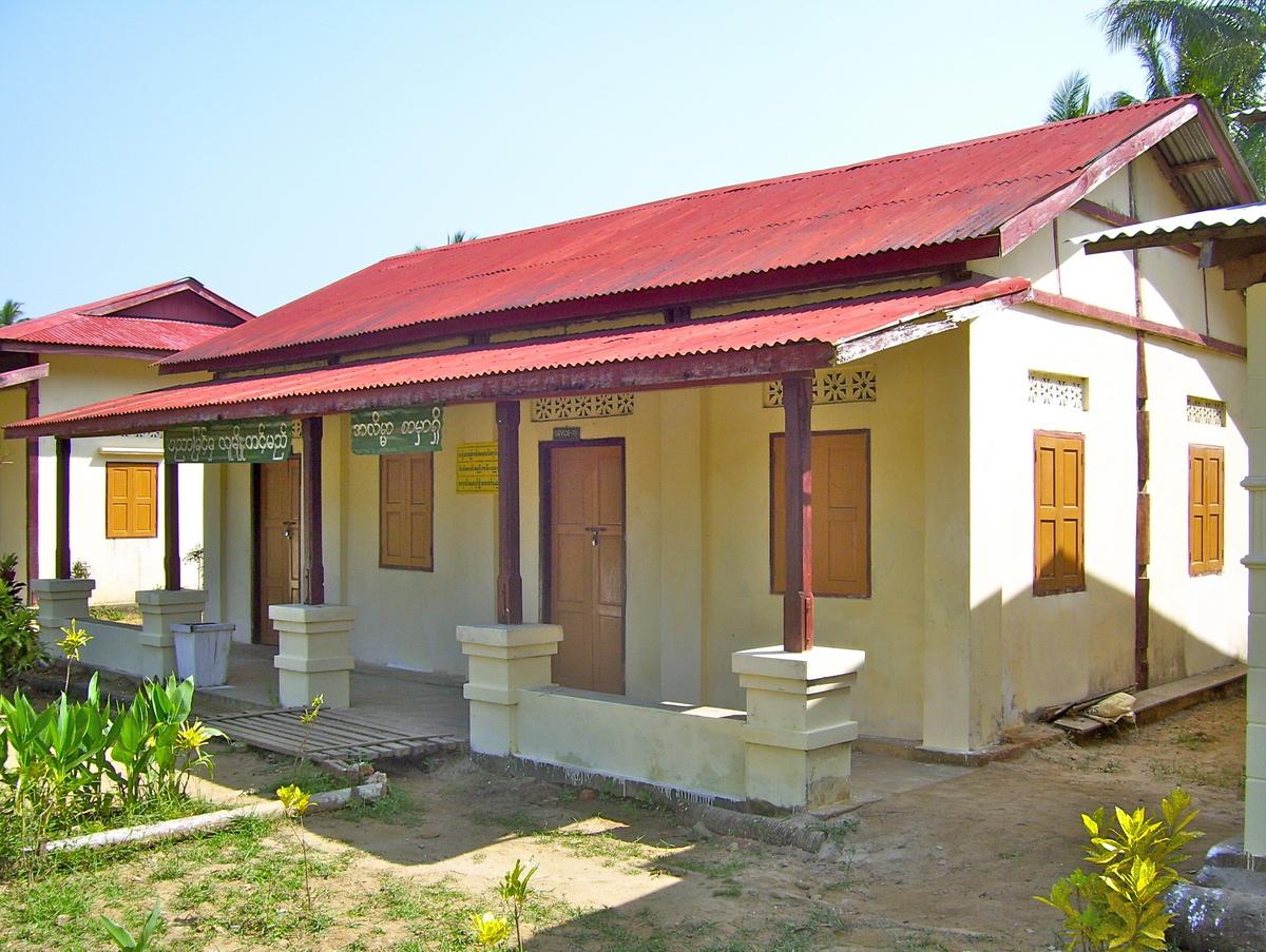 Build schools in Burma Myanmar - Building Middle school in Kanyen Kwen - Ayerwaddy Division - 100schools, UK registered charity