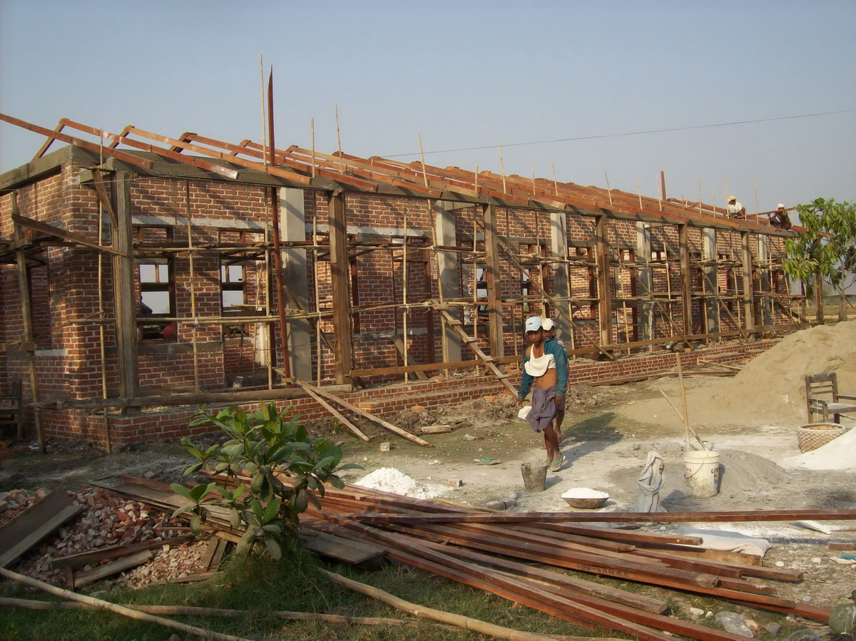 Build schools in Burma Myanmar - Building Primary school in Kwaye Ye Kone - Mandalay Division - 100schools, UK registered charity