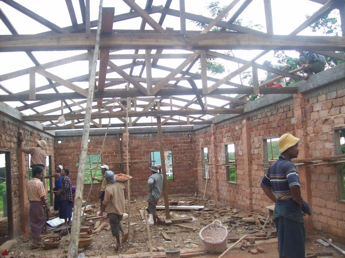 Build schools in Burma Myanmar - Building Primary school in Pyawedaung - Mandalay Division - 100schools, UK registered charity