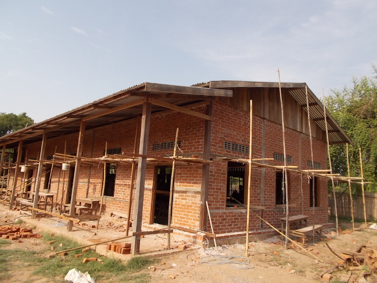 Build schools in Burma Myanmar - Building Jr High School in Daw Hat Taw - Mandalay Division - 100schools, UK registered charity