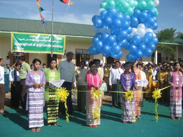 Build schools in Burma Myanmar - Building Middle school in Daw Hat Taw - Mandalay Division - 100schools, UK registered charity