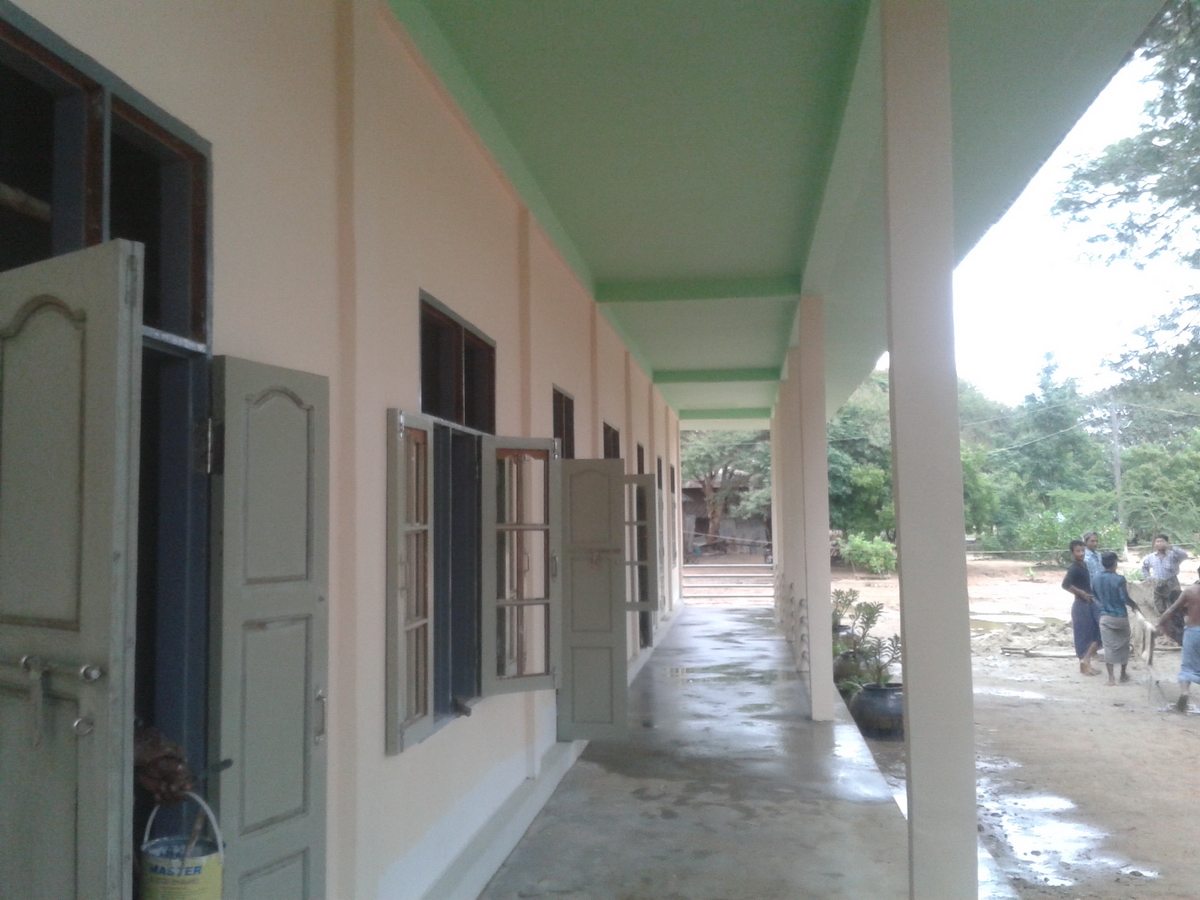Build schools in Burma Myanmar - Building Middle school in Taw Naung Daing - Mandalay Division - 100schools, UK registered charity