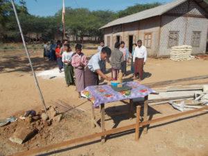 Build schools in Burma Myanmar - Building Primary school in Thein Kone - Mandalay Division - 100schools, UK registered charity