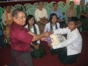 Build schools in Burma Myanmar - Building Primary school in San Pya - Ayerwaddy Division - 100schools, UK registered charity