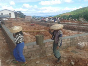 Build schools in Burma Myanmar - Building Primary school in Inyar - Mandalay Division - 100schools, UK registered charity