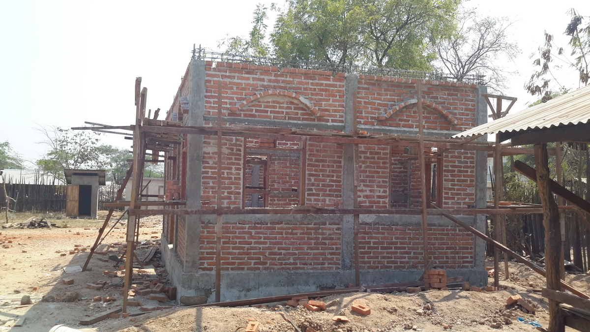 Build schools in Burma Myanmar - Building Primary school in Nwar Chan Gyi Kone - Mandalay Division - 100schools, UK registered charity