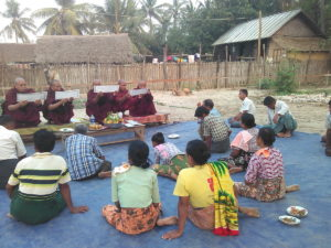 Build schools in Burma Myanmar - Building Primary school in Htan Sin Htaw - Mandalay Division - 100schools, UK registered charity