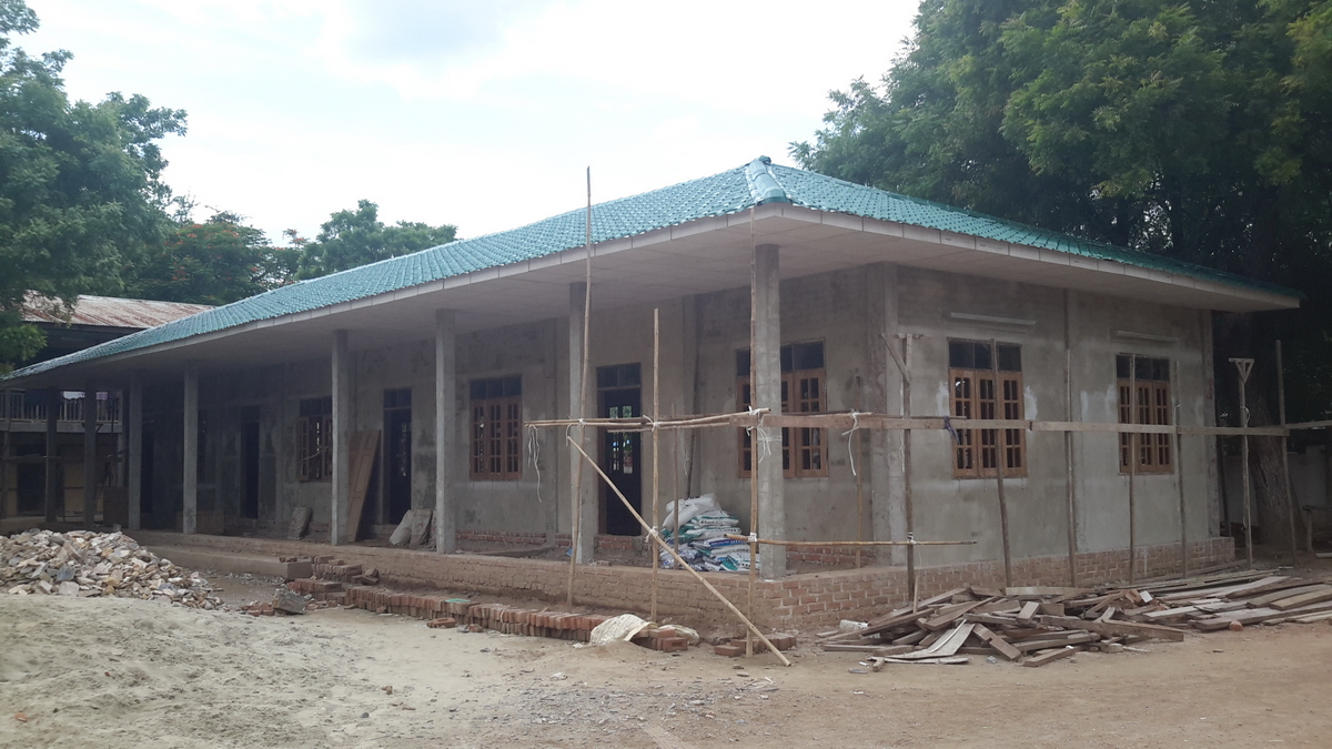 Build schools in Burma Myanmar - Building Primary school in Thanywa - Mandalay Division - 100schools, UK registered charity