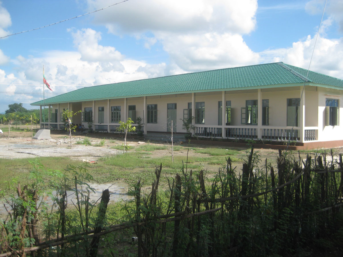 100schools - New school Shar Pin primary school in Mandalay Division