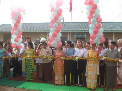100schools - New school Shar Pin primary school in Mandalay Division