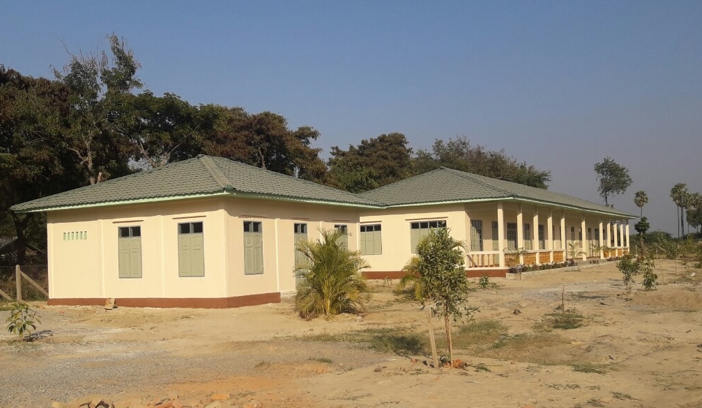 Nwar Shar Yoe middle school - March 2017