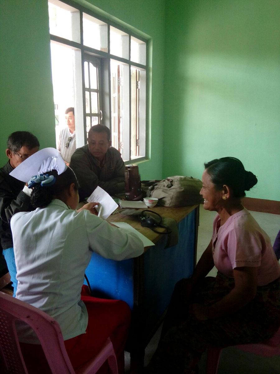 Nwar Shar Yoe's new middle school doubles as a Rural Health Center