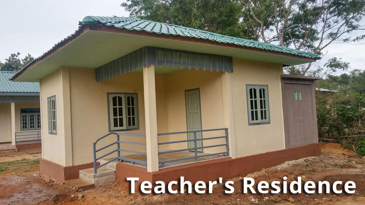 Primary School Pu Pha Kayah State - Building 100 schools in Burma
