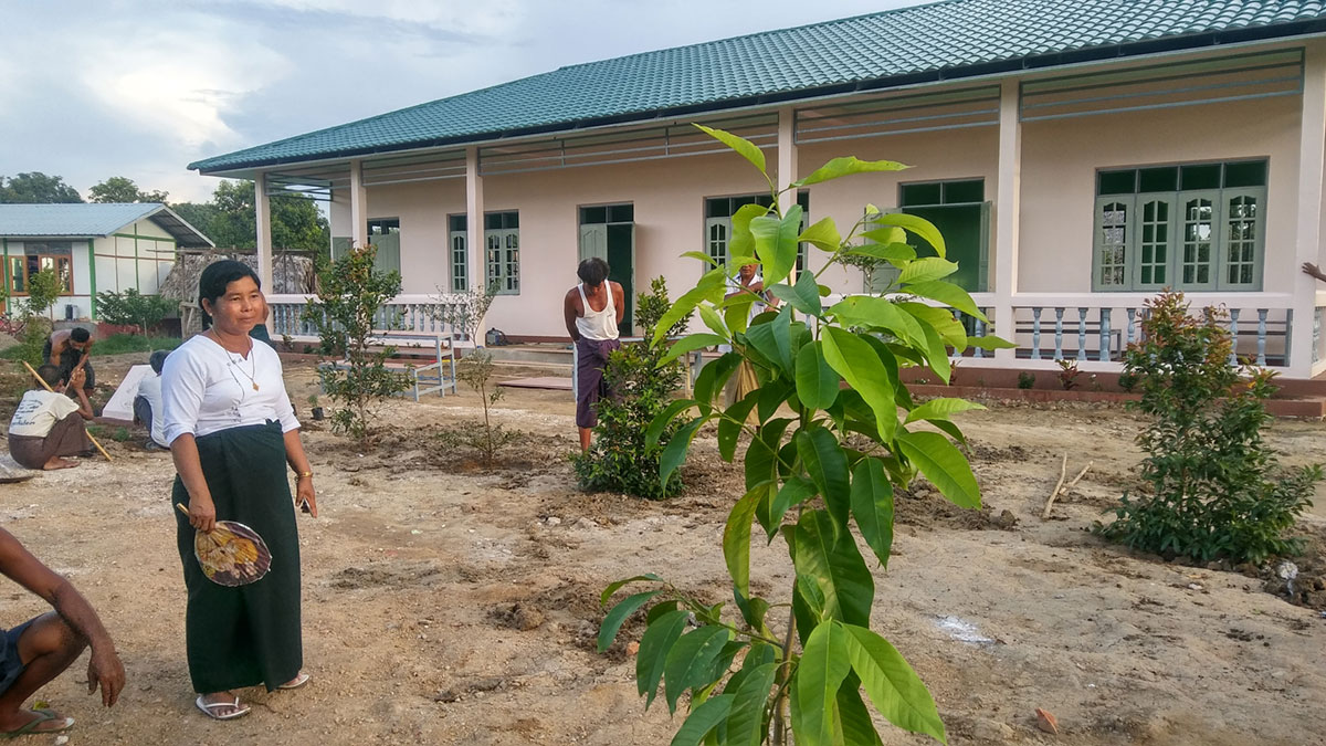 Primay School Kone Tar State - Building 100 schools in Burma