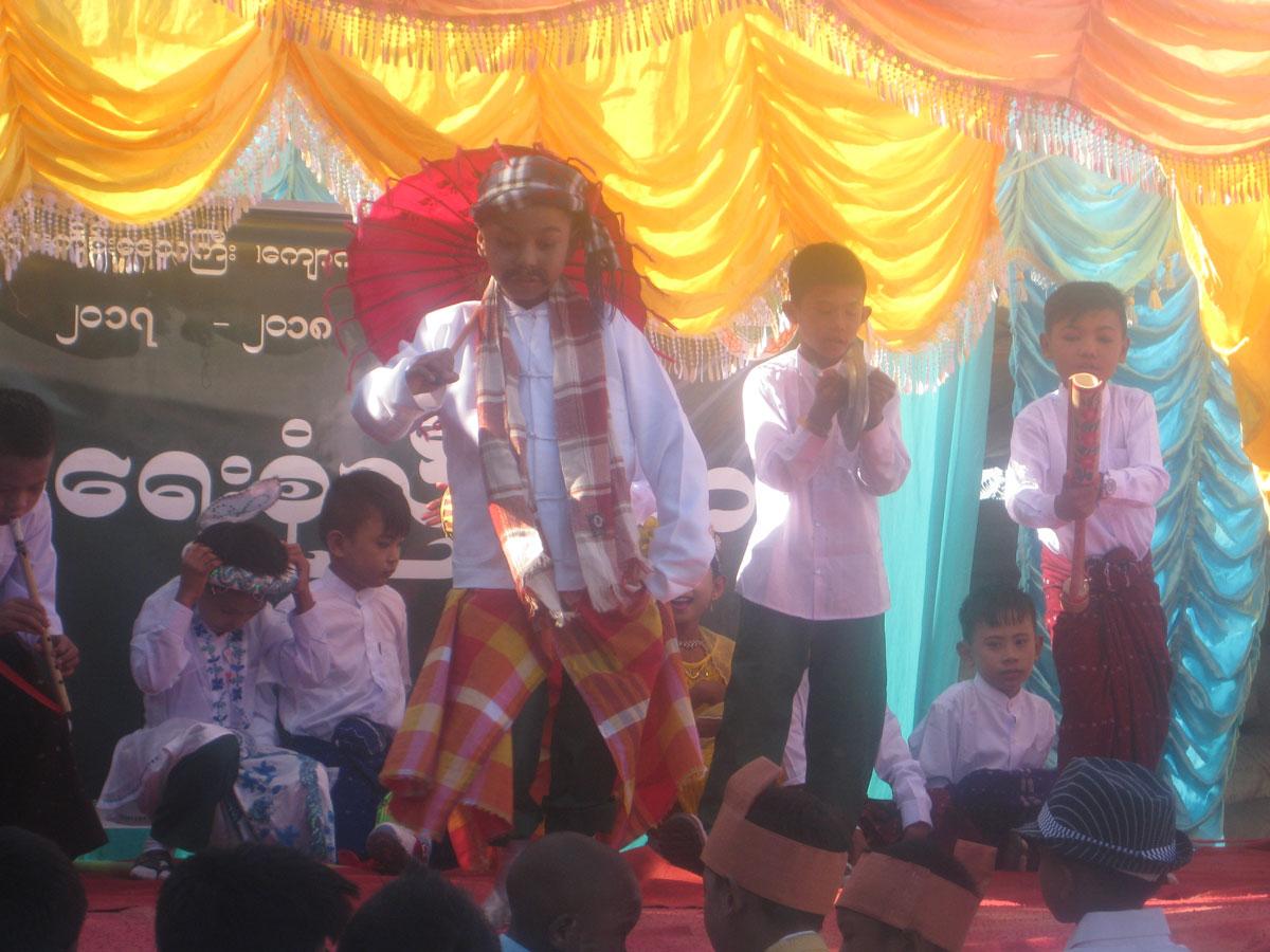 Building 100 schools in Burma - New Opening - Kone Tar in Mandalay division