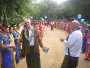 Building 100 schools in Burma - New Opening - Ye Twin Kaung in Sagaing division