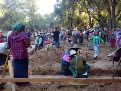 Building 100 schools in Burma - New project - Middle school in Htan Taw Oo