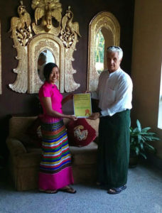 100schools - Burma - Scholarship program - Kyawt Thiri Zaw