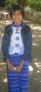 100schools - Burma - Scholarship program - Thi Yu Mon